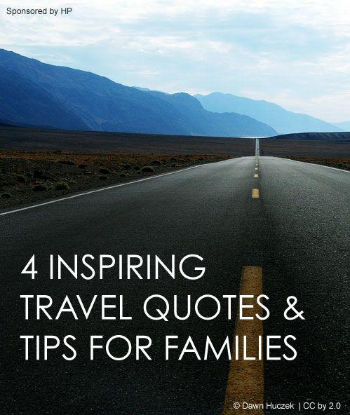 Family Travel Tips + 4 Inspiring Quotes #HPFamilyTime #ad *love #3