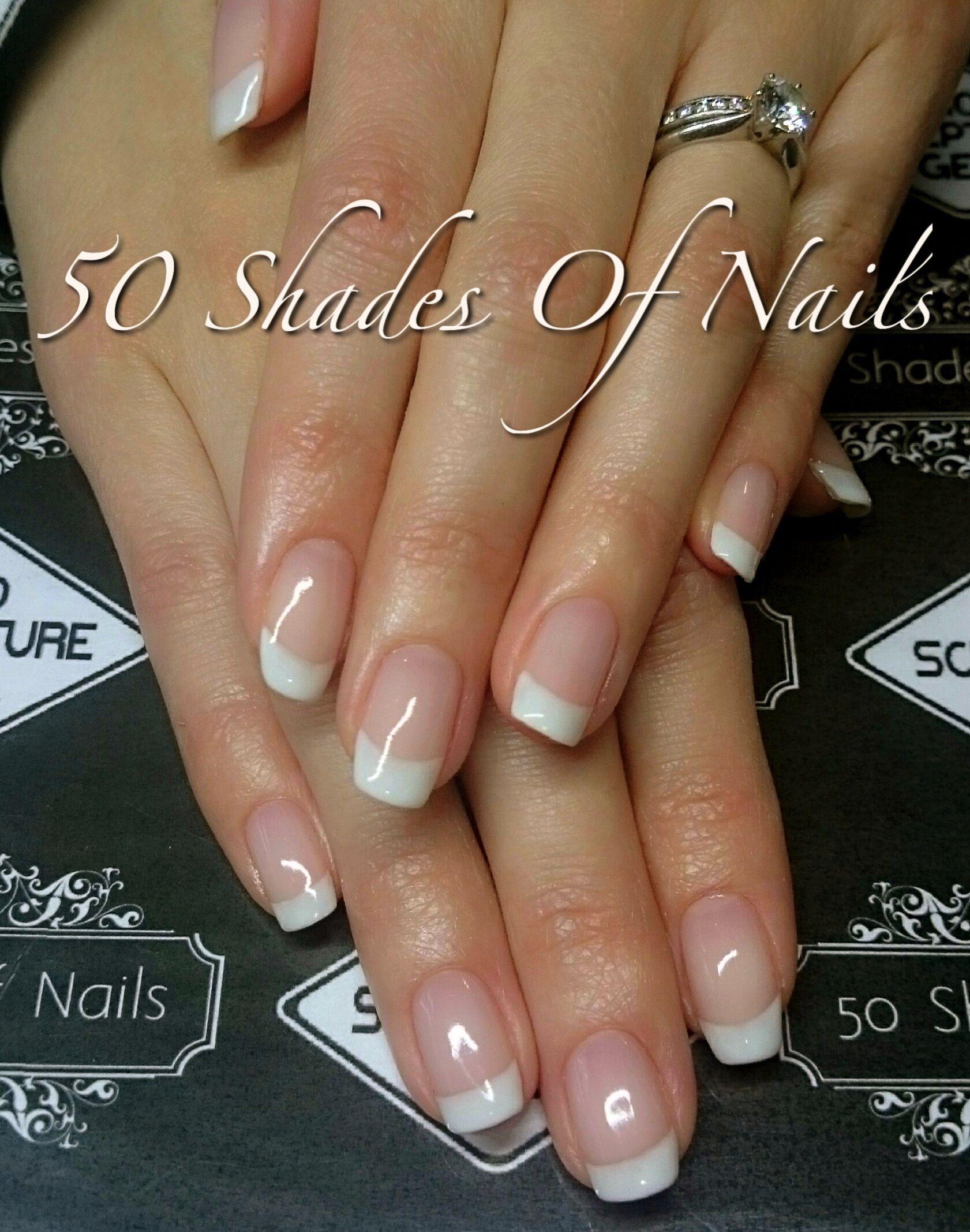 Bio Sculpture Gel French Manicure Gel Nails French Manicure Acrylic Nails Gel French Manicure