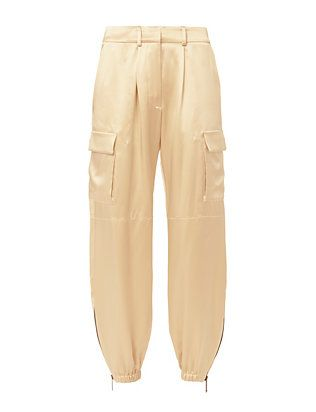 Redemption Champagne Silk Cargo Pants in 2019 | Cargo pants