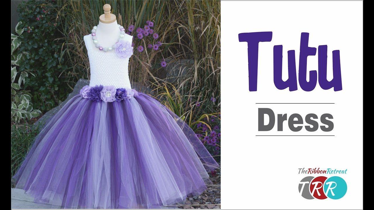 How to make a tutu dress theribbonretreat couture