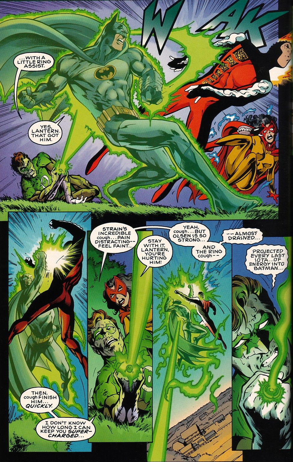 JLA: The Nail Issue #3 - Read JLA: The Nail Issue #3 comic online in ...