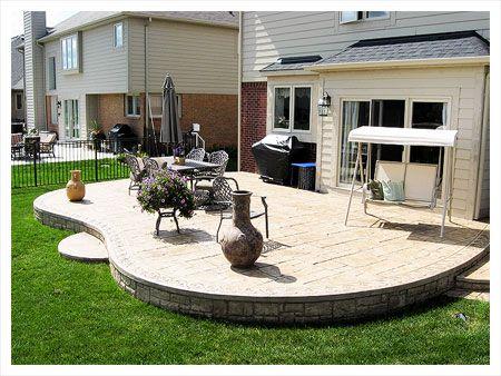 Utica Mi Stamped Concrete Patios Concrete Patio Designs Patio Design Concrete Patio