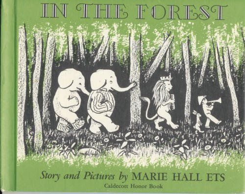 In the Forest by Marie Hall Ets https://www.amazon.com/dp/0590426435/ref=cm_sw_r_pi_dp_x_q4mdzbQ4D4R3X