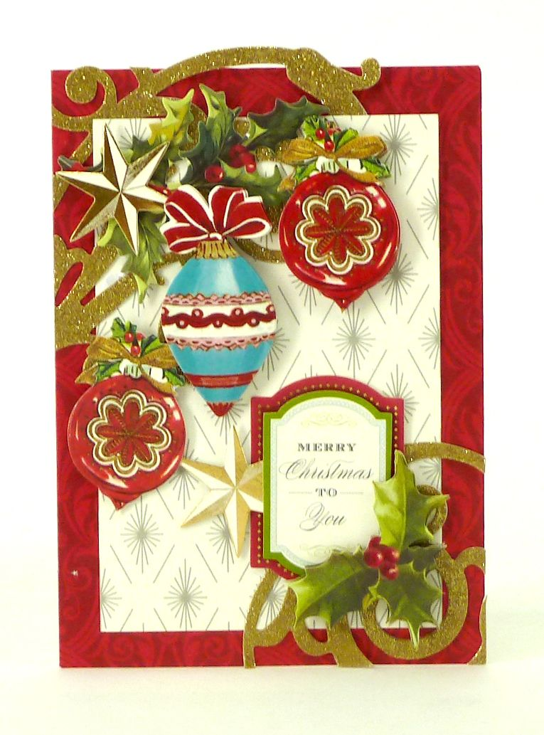 Anna Griffin Inc Holiday Trimmings Card Making Kit Anna Griffin Christmas Cards Anna Griffin Cards Christmas Cards Handmade