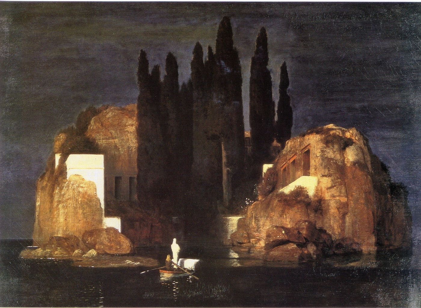 The isle of the dead, A. Bocklin - Kunstmuseum, Basel