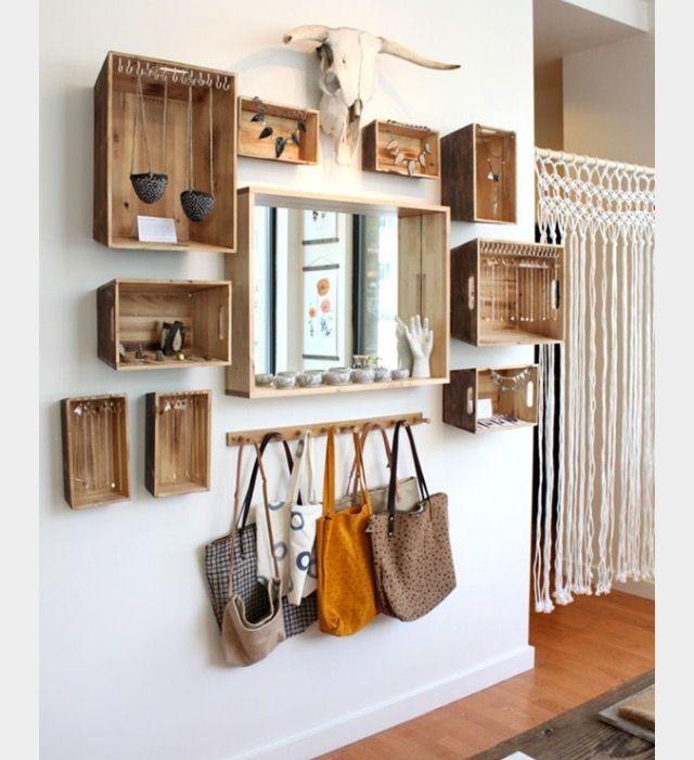 amazing einfache dekoration und mobel viel holz fuer einen rustikalen flur #1: Erkunde Rustikaler Stil, Wohnzimmer und noch mehr!