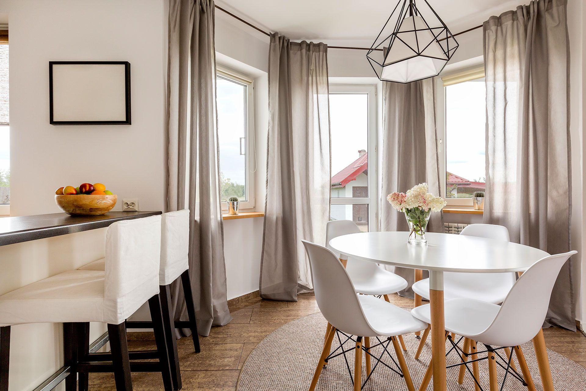 Kleine Fenster, Gardinen Küche Vorhang Ideen Badezimmer ...