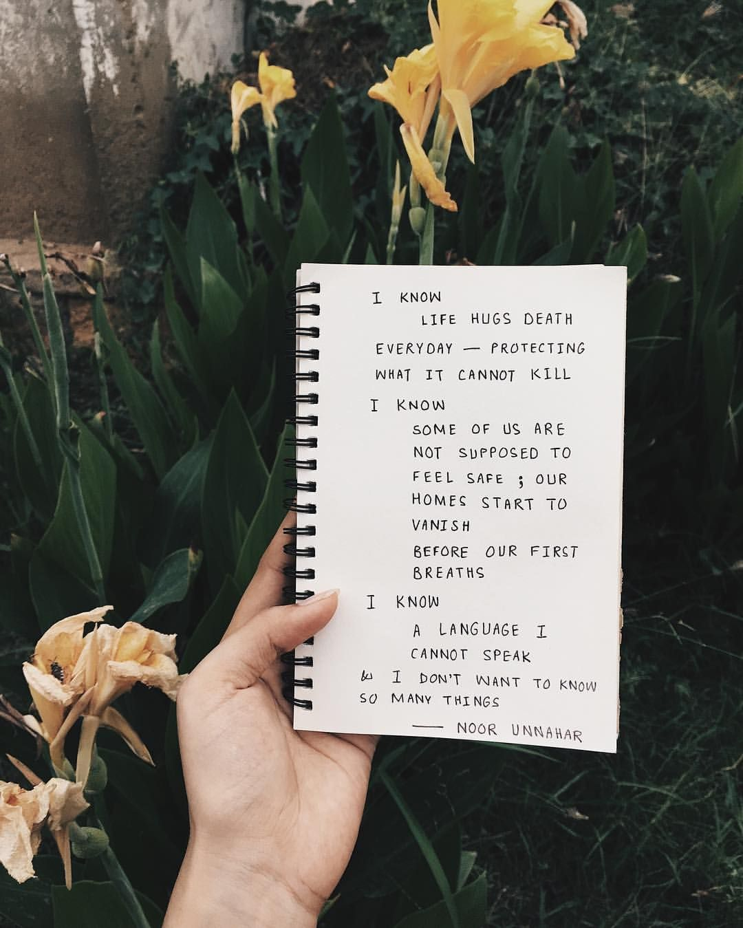 Quotes About Being Pale: Poetry By Noor Unnahar // Quotes, Words, Writing, Writers