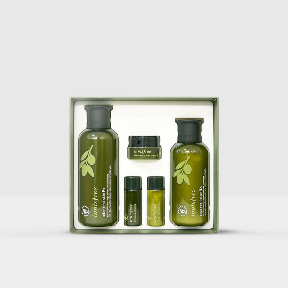 Innisfree Olive Real Skin Care Ex Set At Beautytap Skin Care Face Products Skincare Skin Lotion