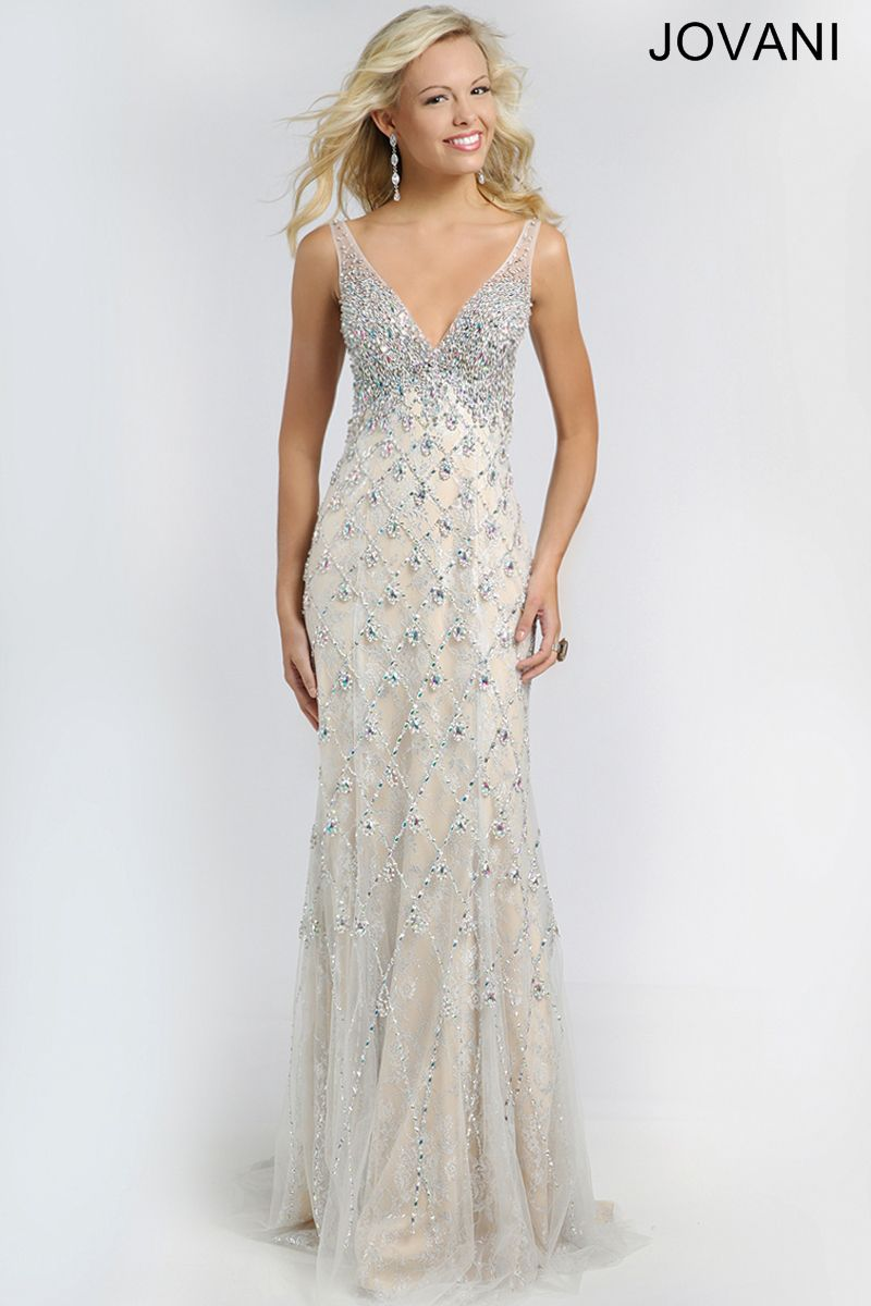 Crystal embellished gown fashion pinterest gowns prom