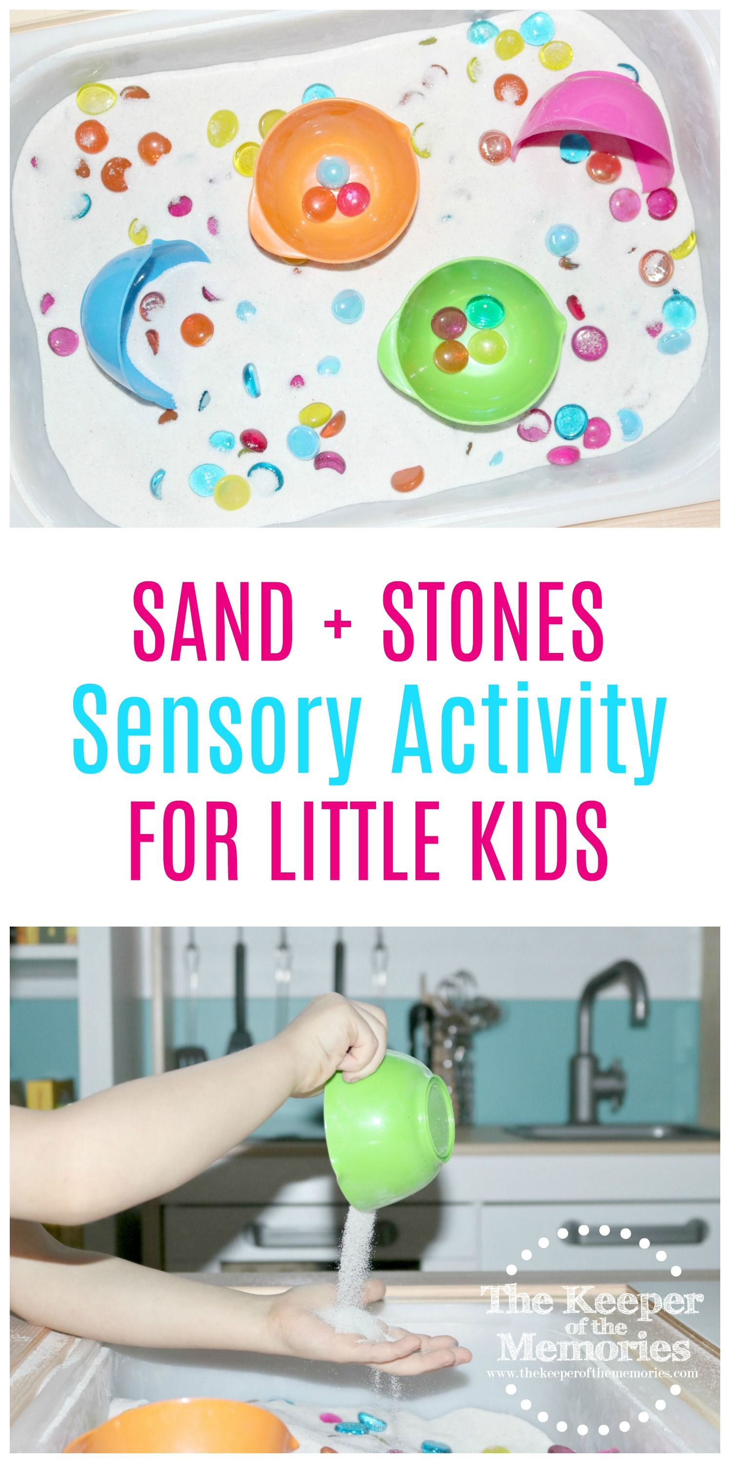 Quick & Easy Beach Sensory Activity for Little Kids ...