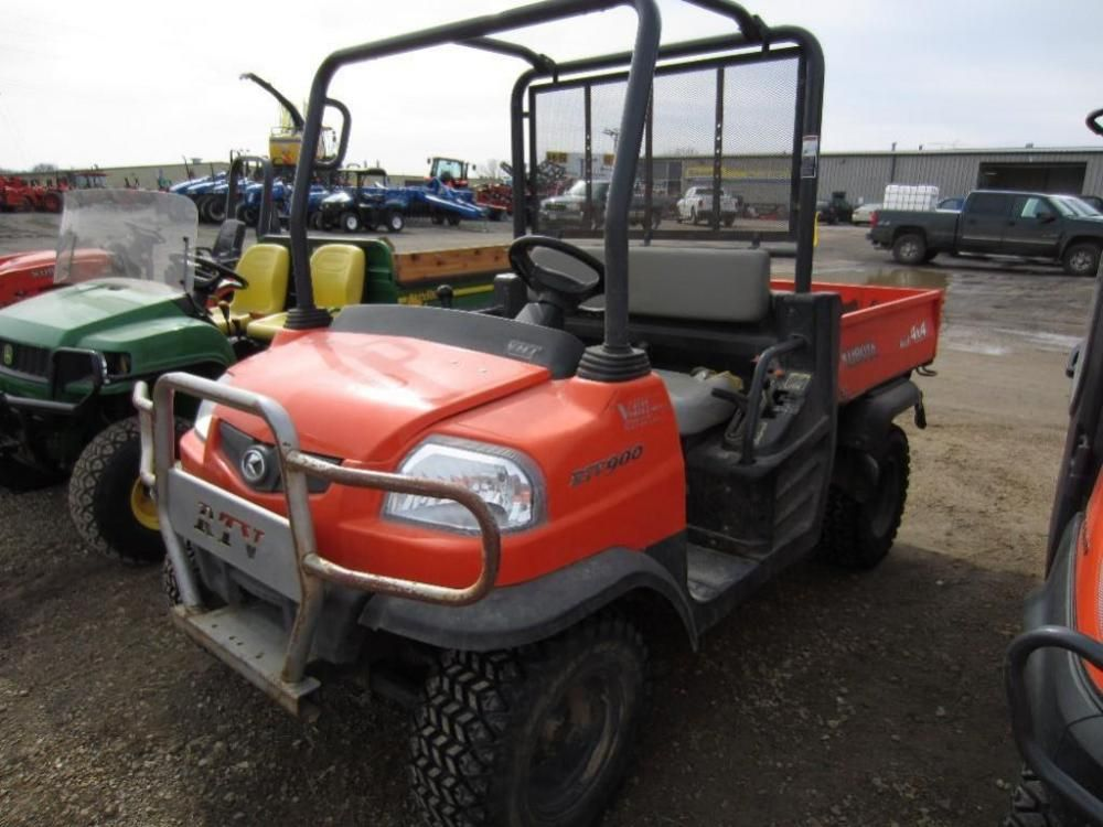 2007 kubota rtv900 side by side march 23 2015 online only auction prairie farm wisconsin. Black Bedroom Furniture Sets. Home Design Ideas