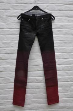 Dior black coated jeans