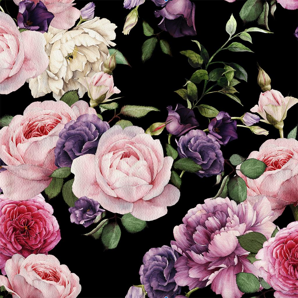 Vintage Floral Wallpaper Dark Shop Project Nursery Floral Wallpaper Vintage Floral Wallpapers Black Floral Wallpaper