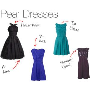 Dresses for Pear-Shaped Women