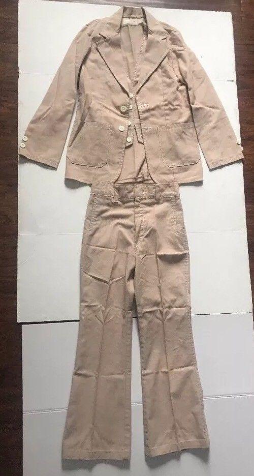 Vintage Billy The Kid Boys Suit 3 Pieces Jacket Vest Pants