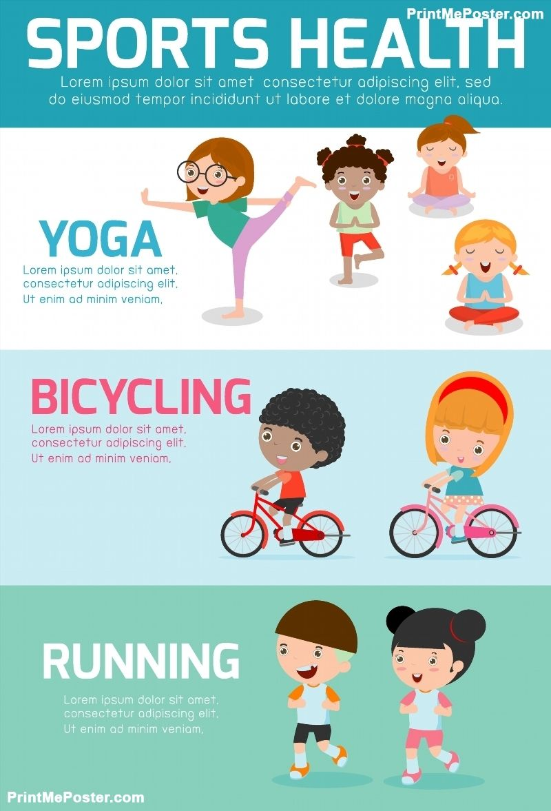 Poster of Sports Health Infographics, Sports Health
