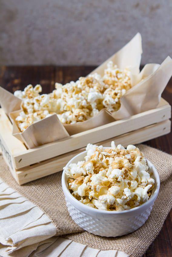 Cinnamon toast crunch popcorn #cinnamontoastcrunch