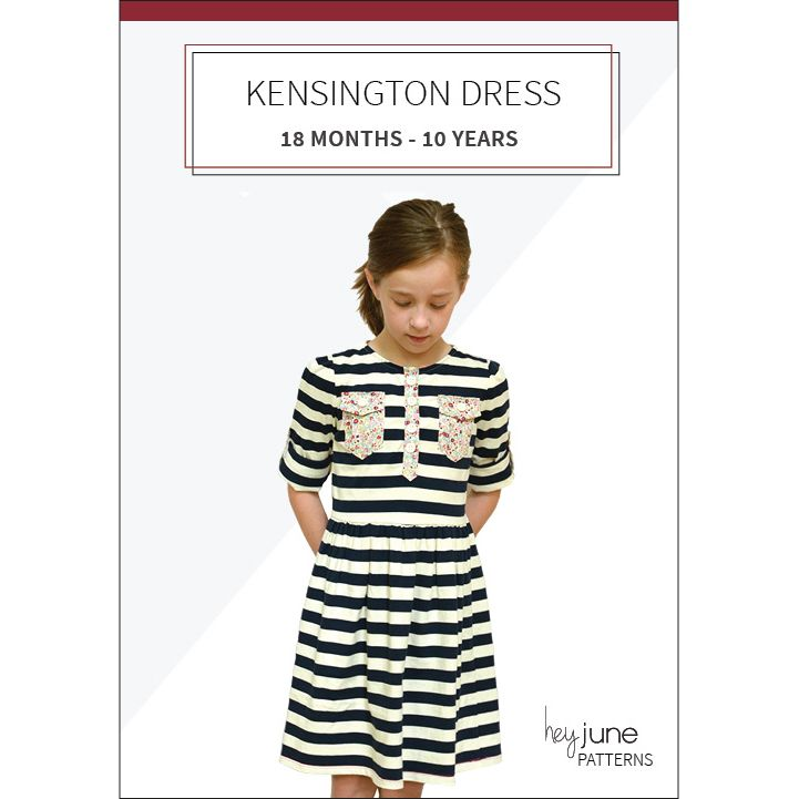 Kensington Dress and Tee | SEWING | Pinterest