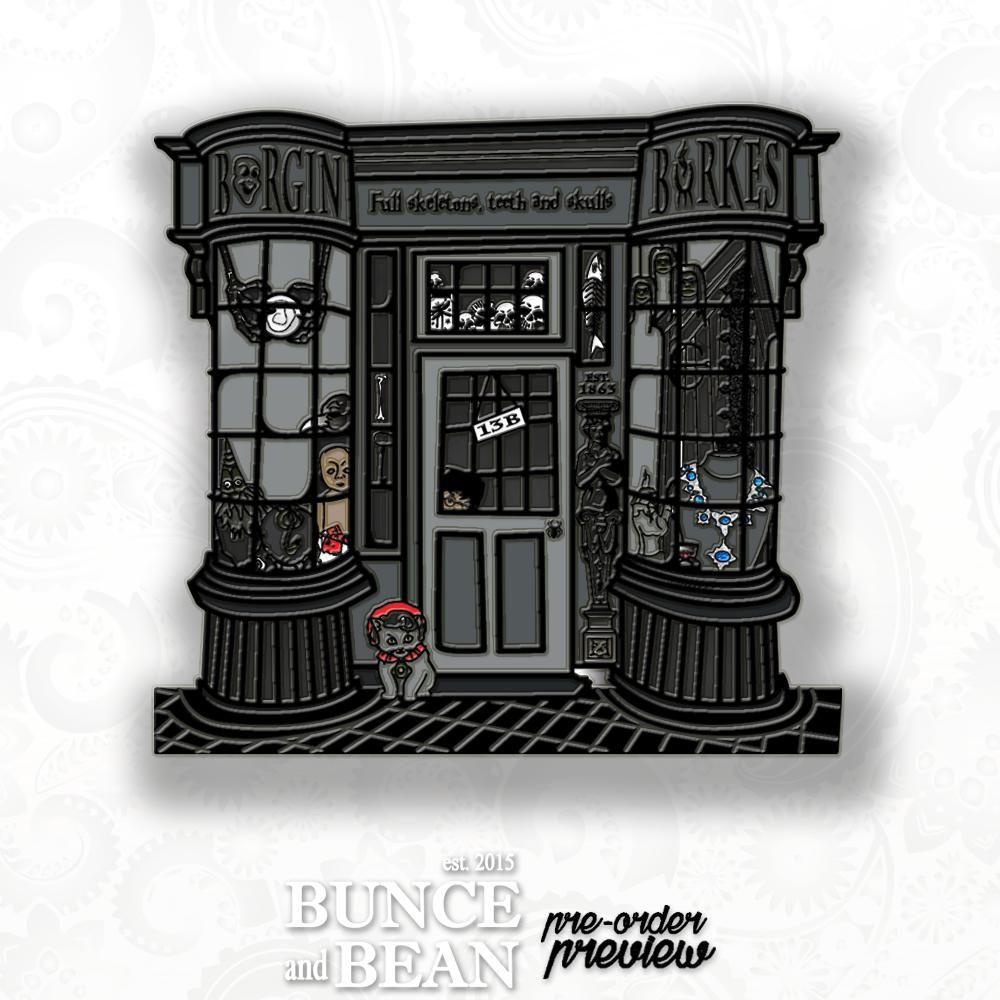 Hpinstreet Borgin Burkes Mystery Enamel Pin Harry Potter Magic Hogwarts Knockturn Alley Bunceandbean Harry Potter Pin Harry Potter Jewelry Enamel Pins