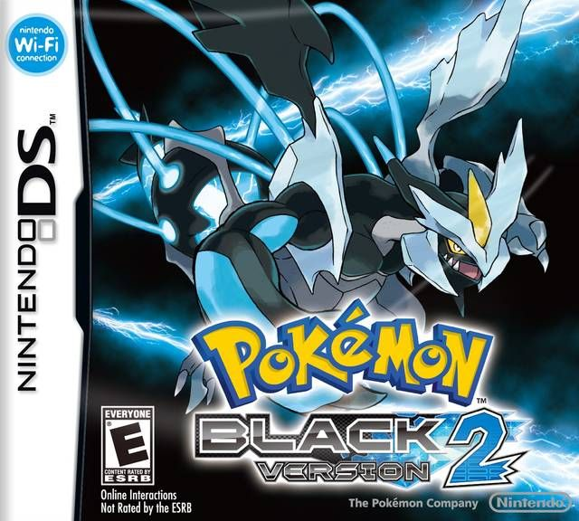 Pokemon Black Version 2 Game For Gba Rom With Images Black