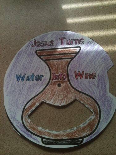 Free Sunday School Craft Ideasideas For WTer Into Wine