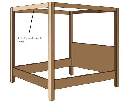 plan 4-poster bed | 6 satin bows | Pinterest | Bed, 4 poster beds ...