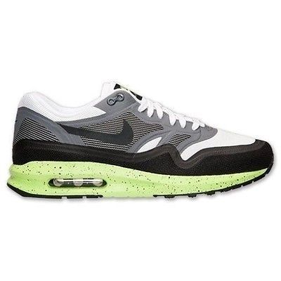 super popular fd5d9 6078c NEW Nike Air Max Lunar1 White Grey Volt Black Running Casual 654469-100 SZ  10.5 Clothing, Shoes   Accessories Men s Shoes Athletic  nike  jordan   shoes ...