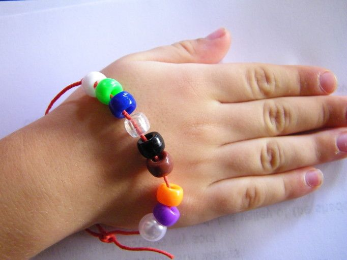 Bead Colors To Help Kids Remember The 23rd Psalm