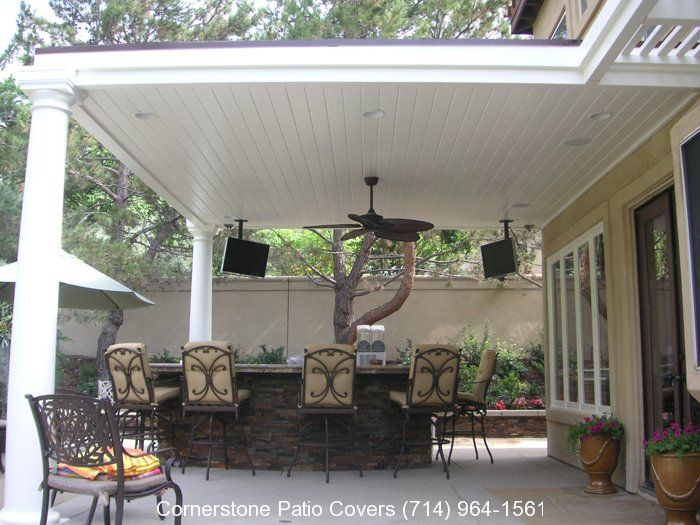 solid roof patio cover plans