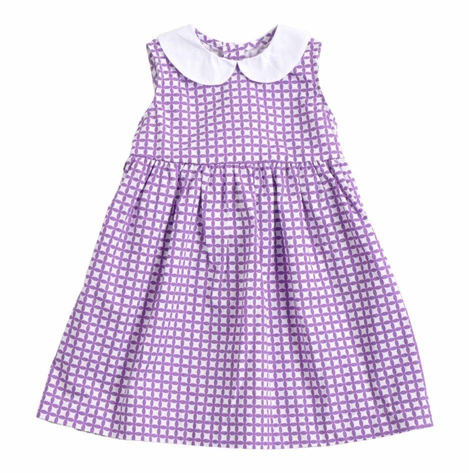 Vestido para Bebe Niña confeccionado en algodón 100%, con diseño de ...