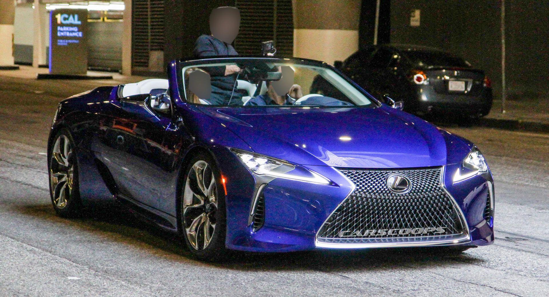 2020 Lexus Lc Cabrio Entdeckt Wahrend Fotoshooting Auf Der Strasse Unverkleidet Auf Autodasalleinefahrt Autodasfliegenkann Lexus Convertible Lexus Lc Lexus