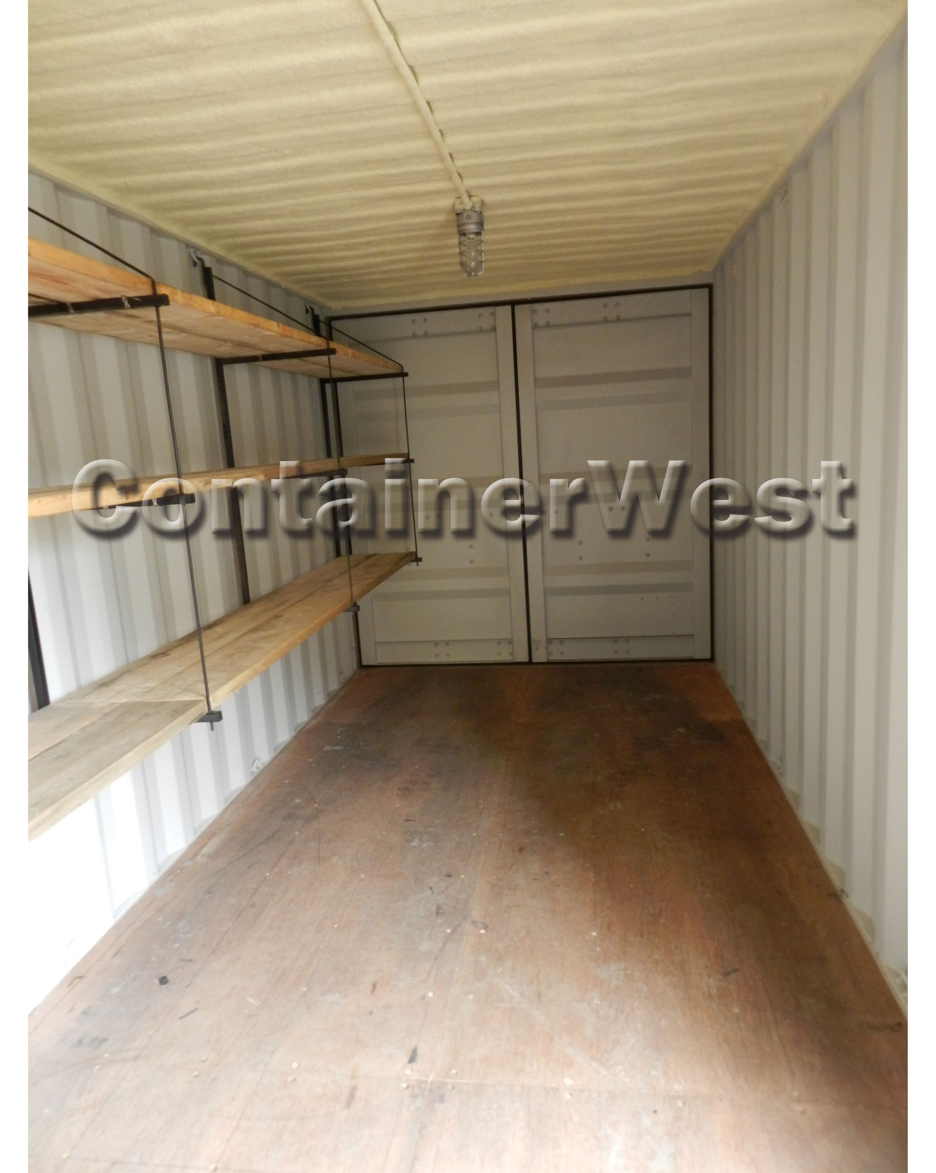 At home storage container rental