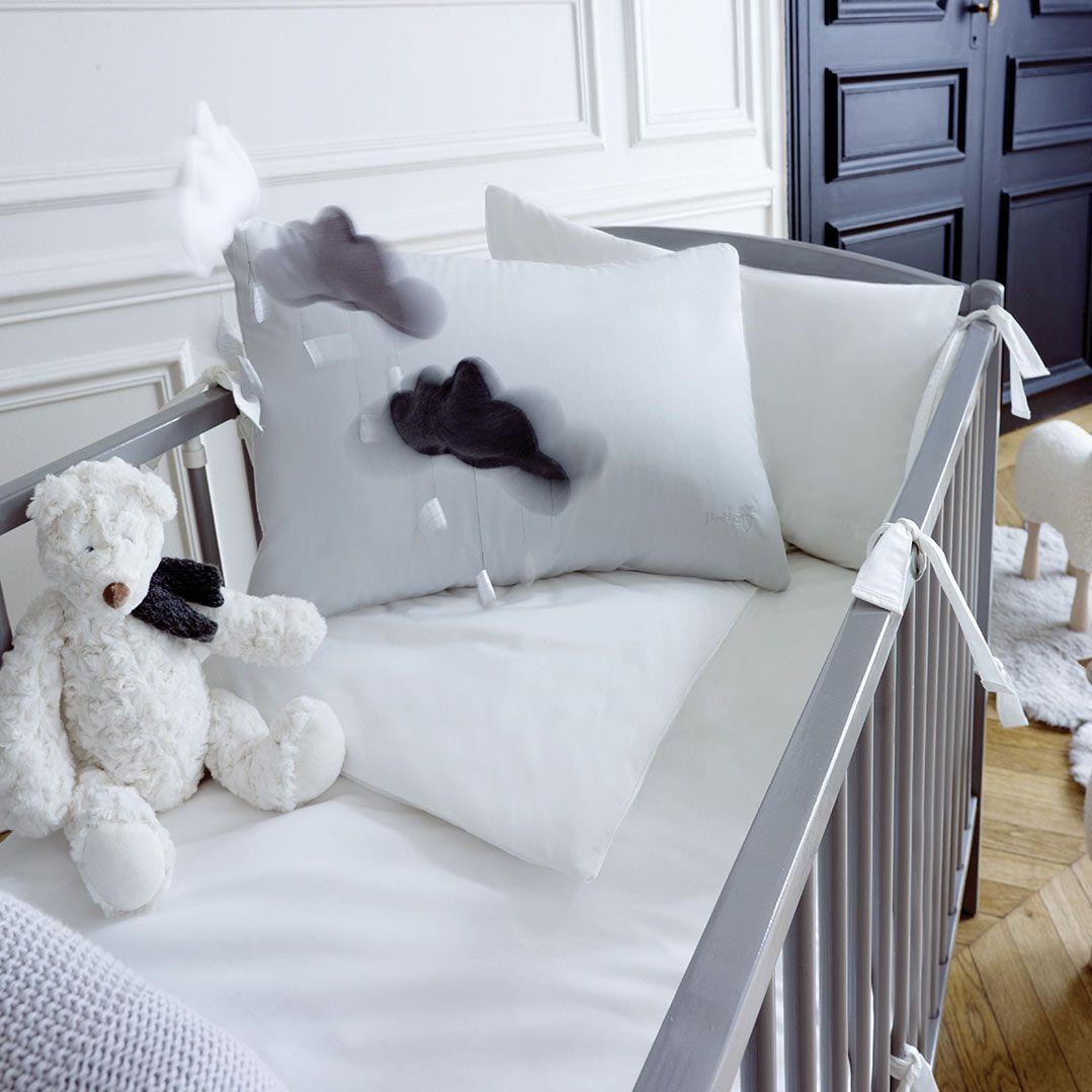 tour de lit bébé descamps Tour de lit 100% percale de coton par PETIT DESCAMPS | Baby  tour de lit bébé descamps