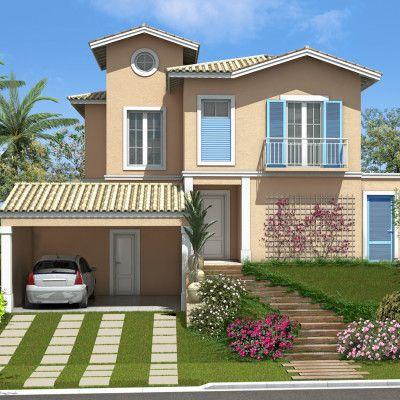 modelos de casas campestres de dos pisos Mi Casa en la