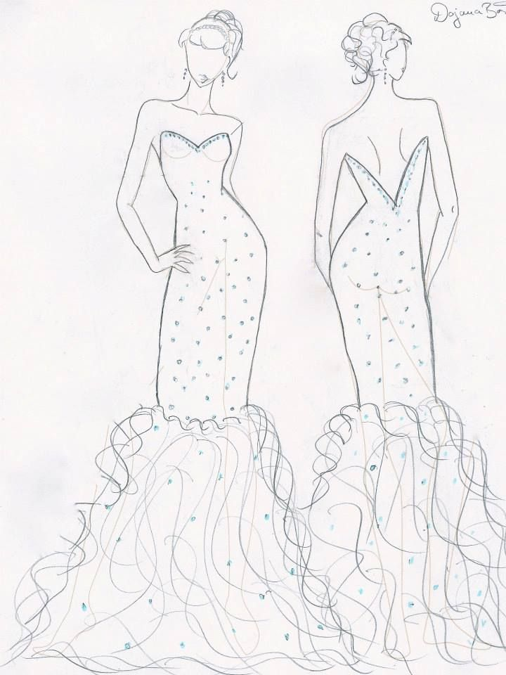 our spring summer 2014 debut collection in sketches macaroon shades Pink Vera Wang Wedding Dress our spring summer 2014 debut collection in sketches macaroon shades pastel lace