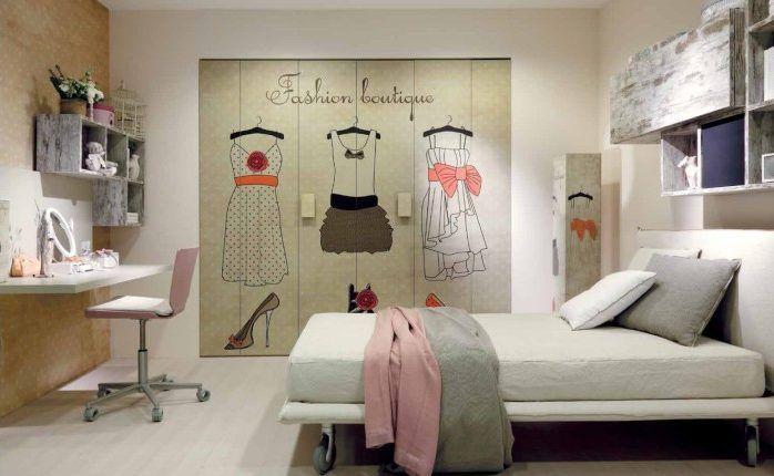 Decoracion cuarto femenino decoraci n habitaciones - Decoracion habitaciones juveniles nino ...