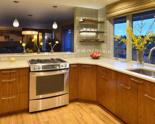 kitchen design ideas renovations photos with black from Seattle ...