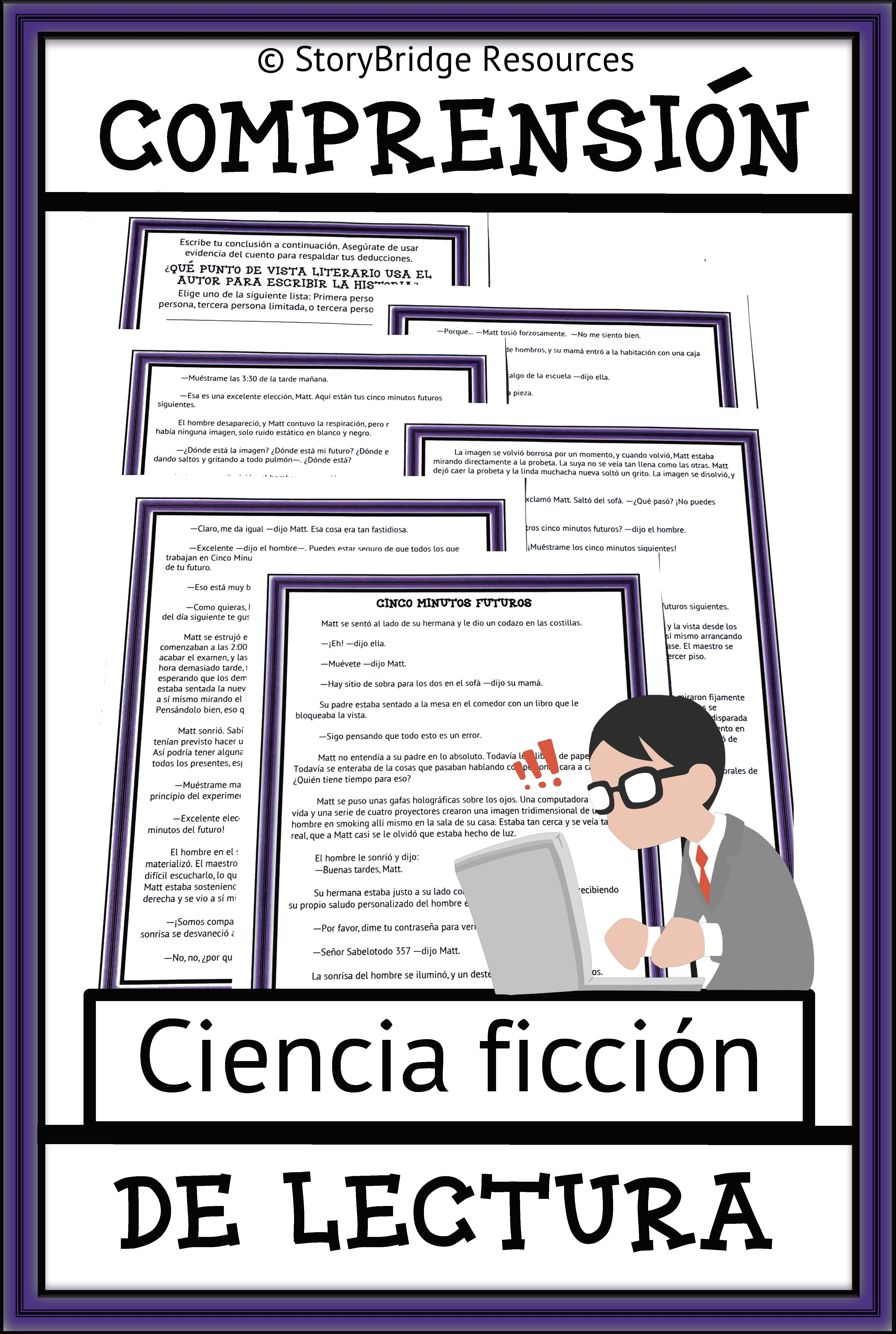 Point Of View A Spanish Science Fiction Story For Reading
