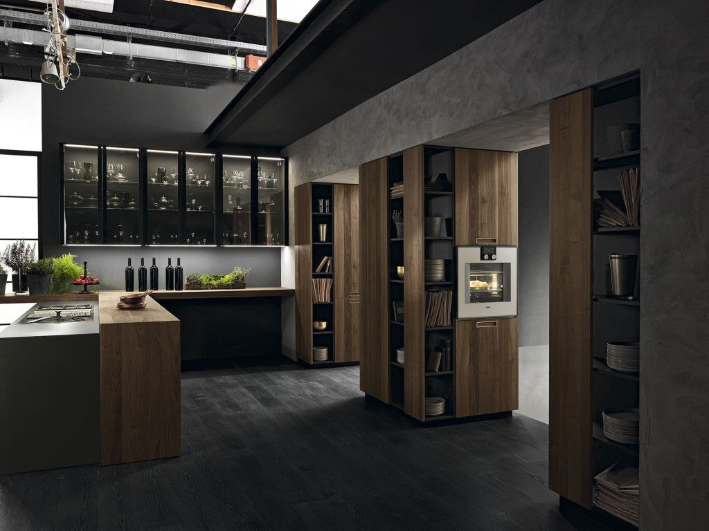 Modern Luxury Kitchens For A Grand Kitchen Dizajn Interera Dlya Doma Interer Derevyannaya Kuhnya