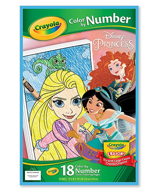 Crayola Color By Number Books