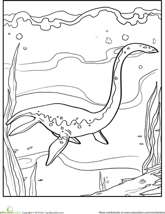 dinosaur facts and coloring pages - photo#10