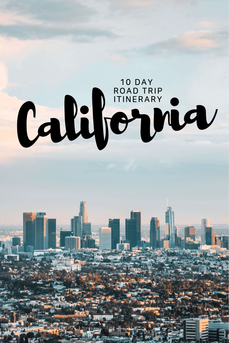 California (the golden state) is the perfect mix between cool cities and beautiful nature parks. This 10 day road trip itinerary takes you to some of California's best highlights in a timely manner. Find out what to do in California and how to see the most in only ten days. #california #travel #roadtrip #itinerary