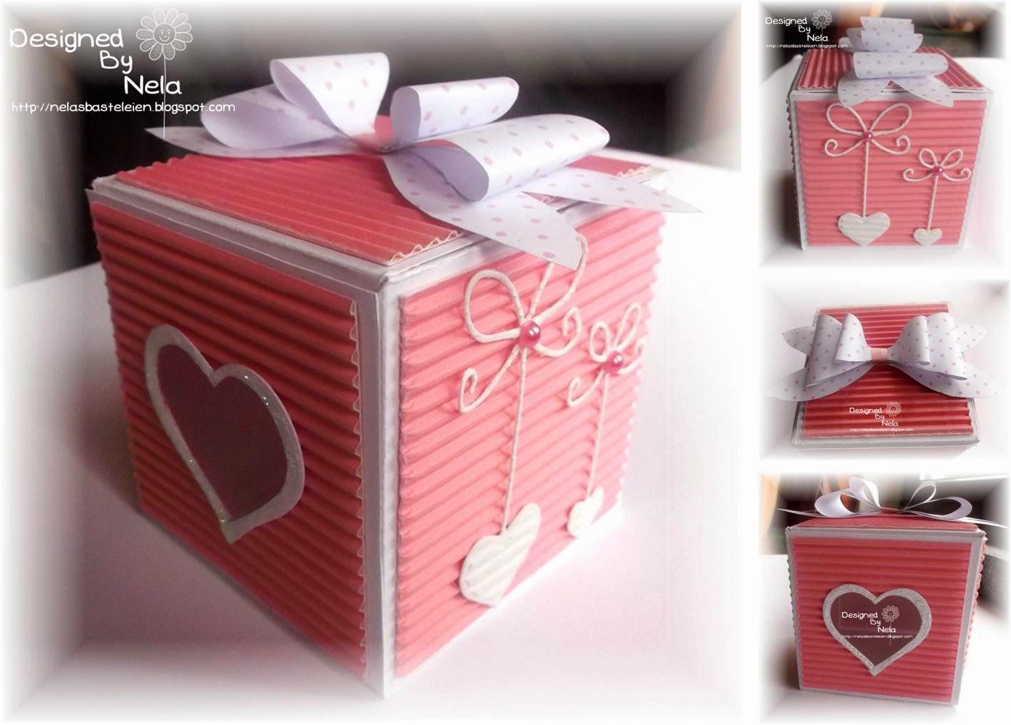 Nelasbasteleien: SEME Workshop Box mit Herzfenster | Verpacken ...