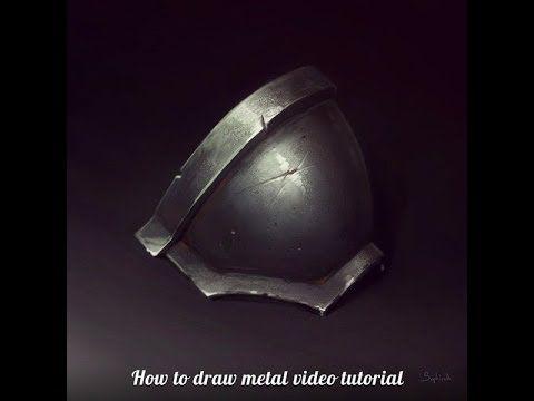 Sephiroth Art How To Draw Metal Sephiroth Art Digital Painting Tutorials Painting Tutorial
