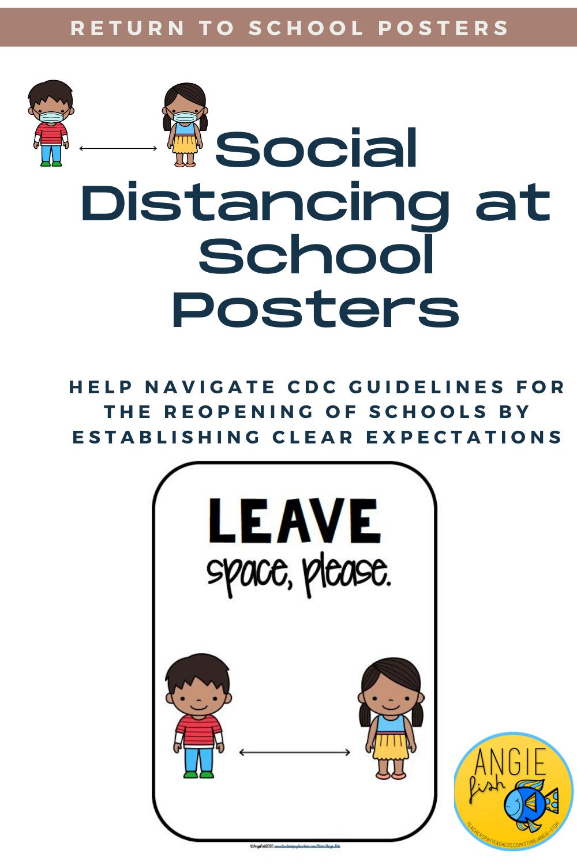 School Social Distancing in 2020 Teacher help, School