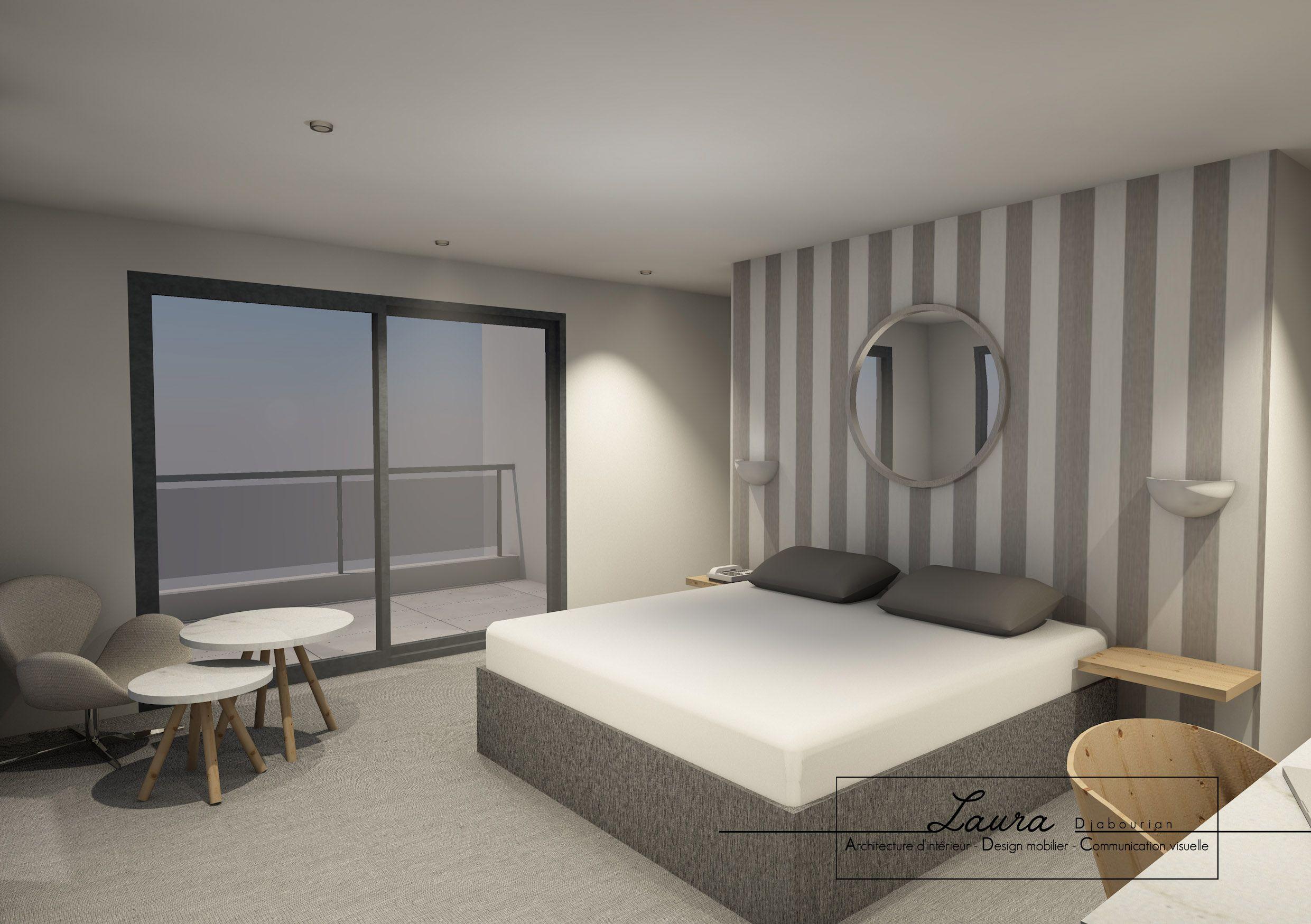 Agencement D Une Suite D Hotel 3d Design Interiordesign Hotel Deco Interiordesign Chambre Bedroom Home Decor Home Furniture