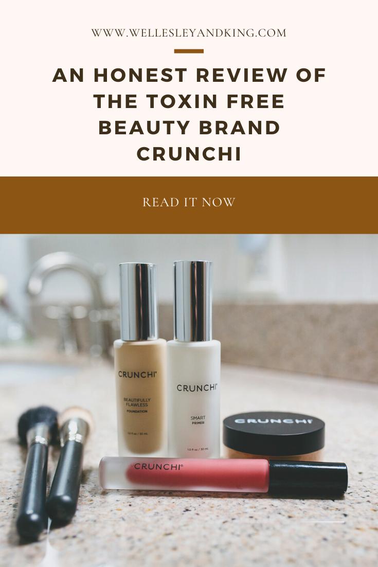 ToxinFree Beauty Brand Crunchi Wellesley & King in 2020