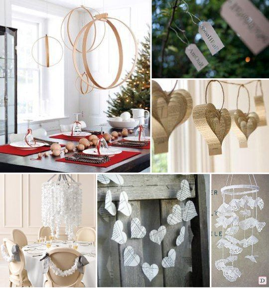 decoration salle mariage plafond mobile papier ev nements c r monies pinterest. Black Bedroom Furniture Sets. Home Design Ideas