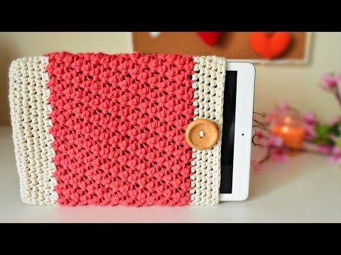 Tu estuche a crochet para celular - YouTube | tejido | Pinterest ...